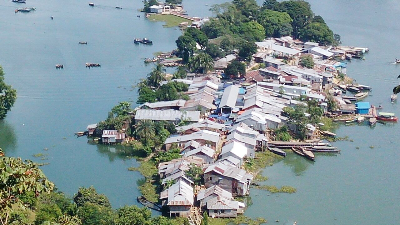 Hilltop View Market Hill Country Village House River Life Nature Rangamati Market Place In Hill Side EymEmPhoto EyeAmNewHere Adopted To The City