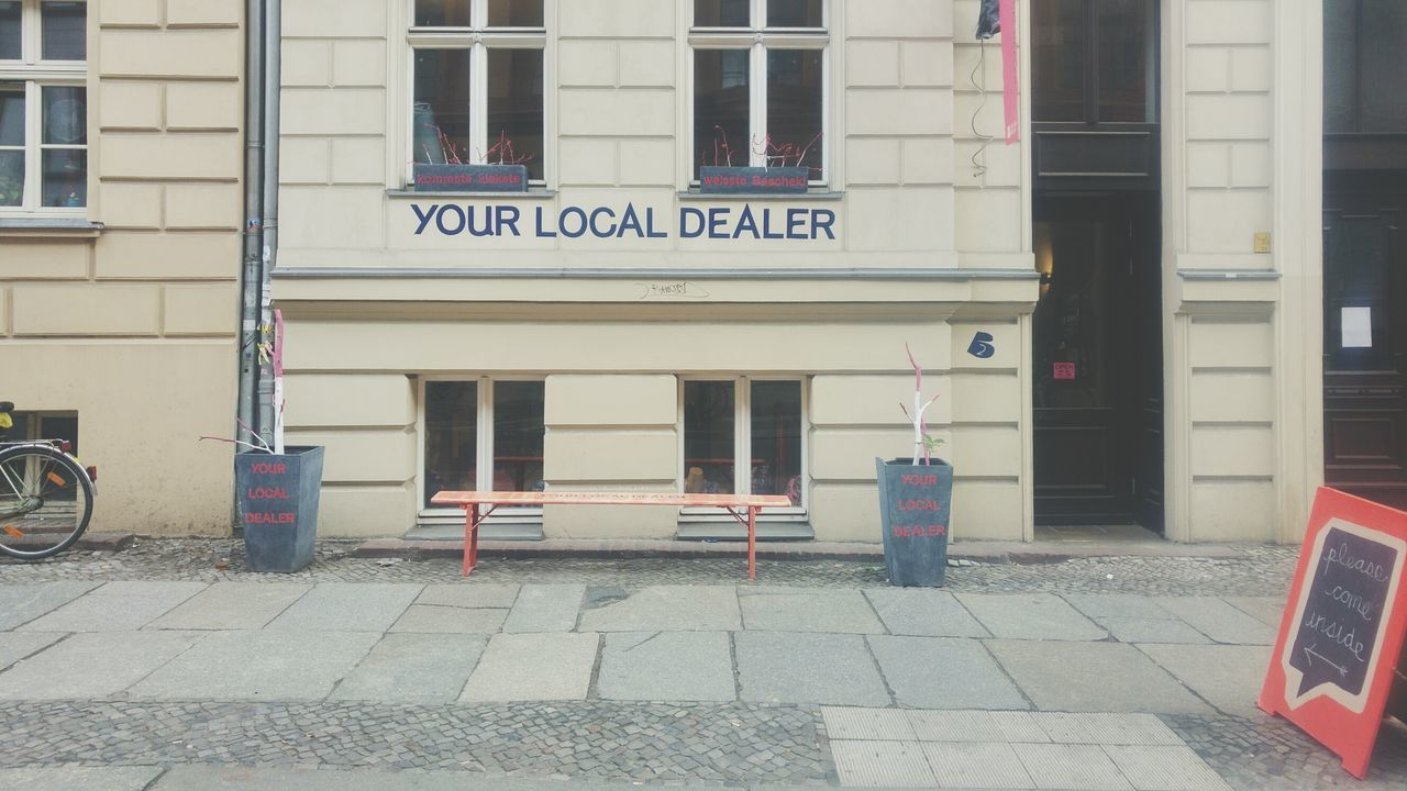 Berlin Mitte Local Dealer Shop Front Altbau