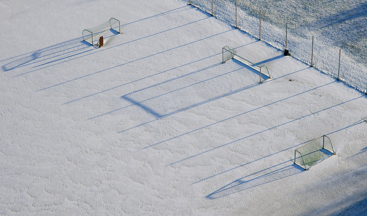 Adapted To The City Afternoon Football Field Nikon Norge Norway Outdoors Shadows Snow Søgne Vest-agder Winter EyeEmNewHere The City Light Flying High Break The Mold