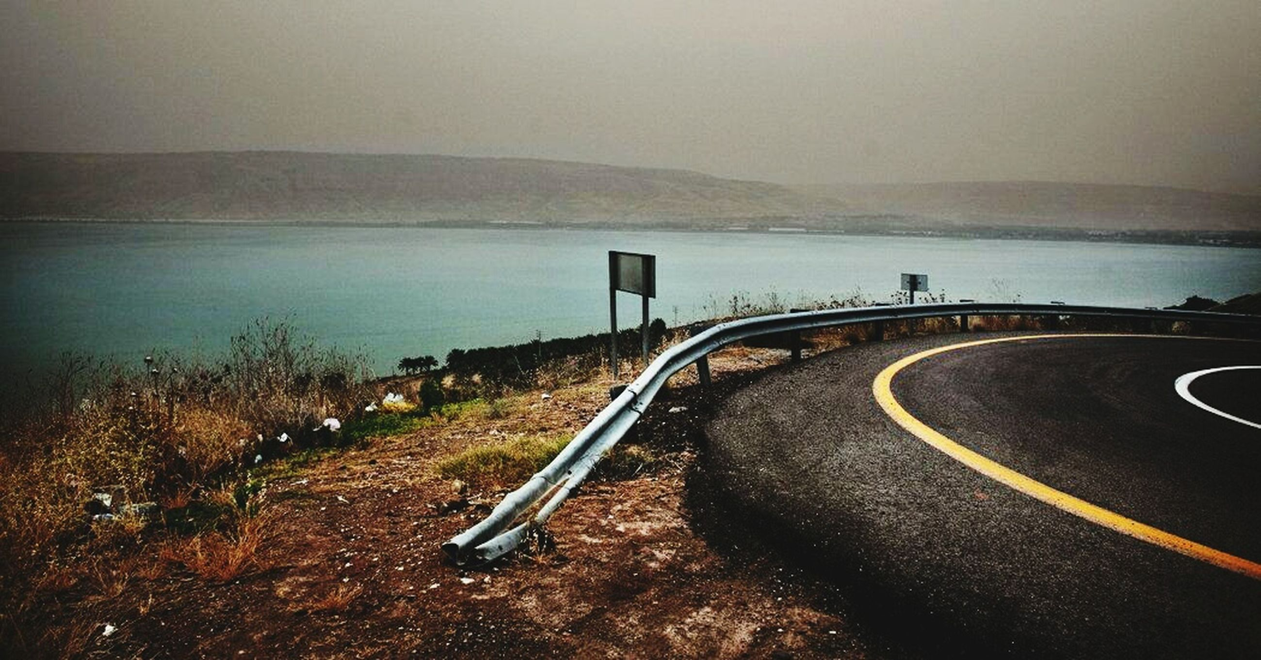 transportation, road, scenics, sky, the way forward, tranquility, nature, water, no people, day, outdoors, beauty in nature