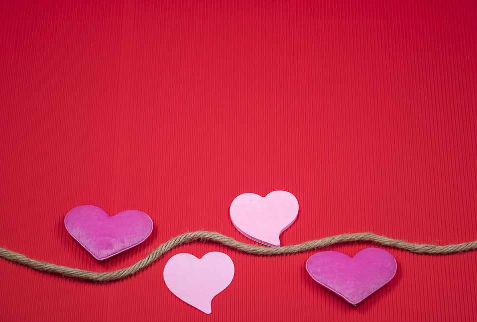 Close-up Copy Space Day Heart Shape Indoors  Love No People Pink Color Sweet Food Valentine's Day - Holiday