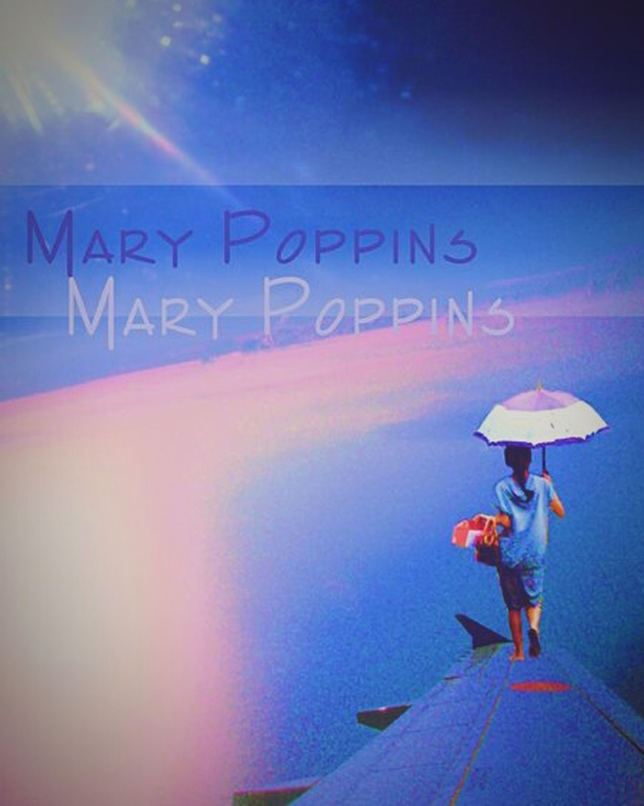 2010 @ ??. Supercalifragilisticexpialidocious! Sky And Clouds Marypoppins Umbrella