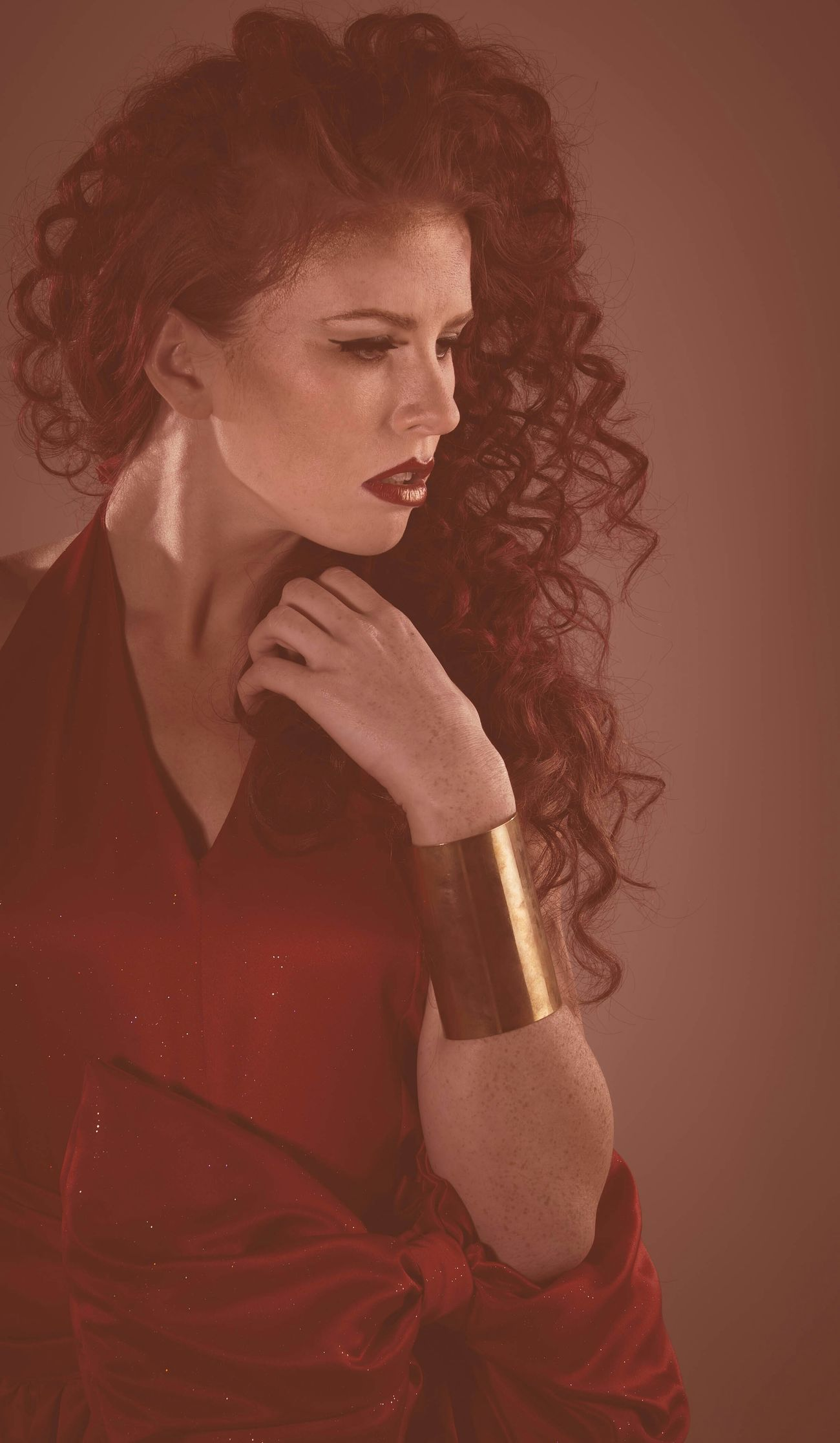 Chandler from our fire & ice editorial Jdanda Beautiful Photooftheday Woman Fire Armband Photoshoot