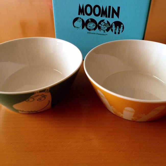 サラダボウルもあるのだよ☻ ムーミン Moomin 皿 サラダボウル