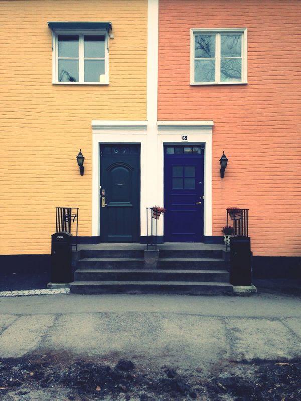 neat neighbourhood. Door House Street Stockholm
