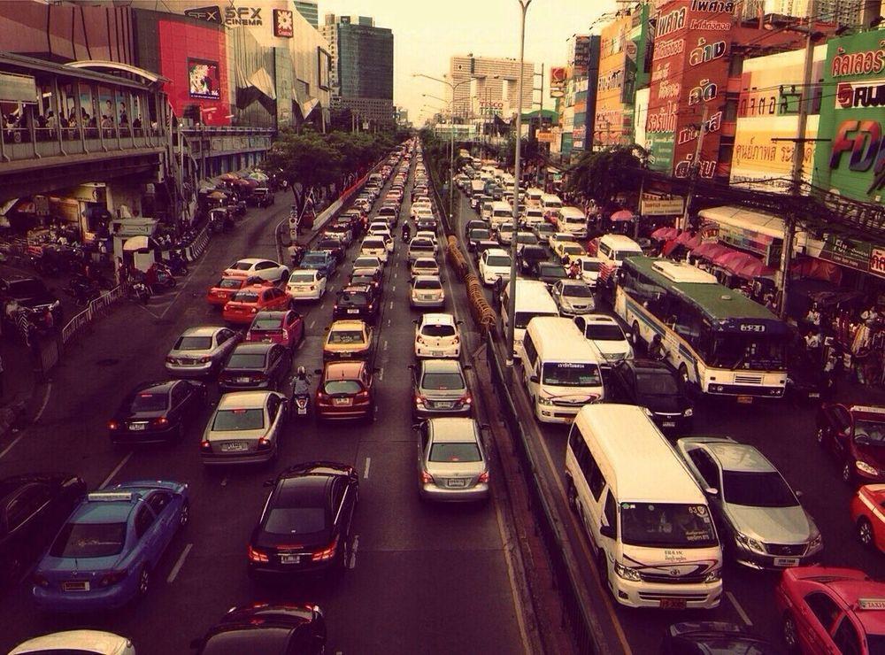 ลาดพร้าวแลน ดินแดนแห่งความไม่ขยับไม่เขยื้อน!!!! Out Going Traffic Jam Stuck In Traffic