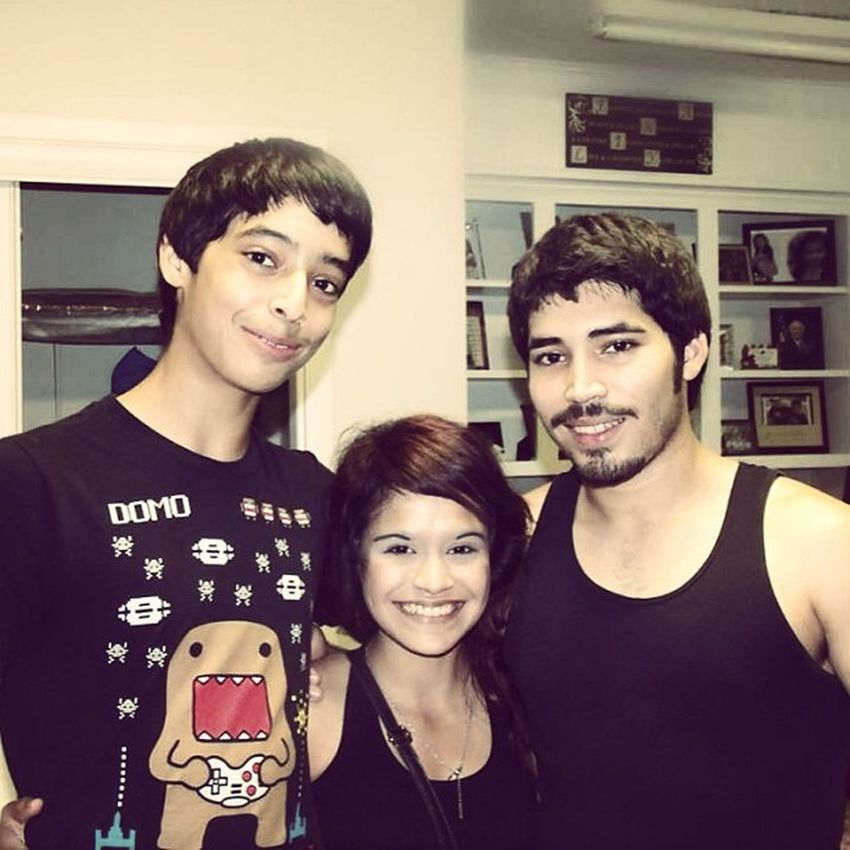 My two cousins Jordan & Mitch , I love them so much. Littlecousins