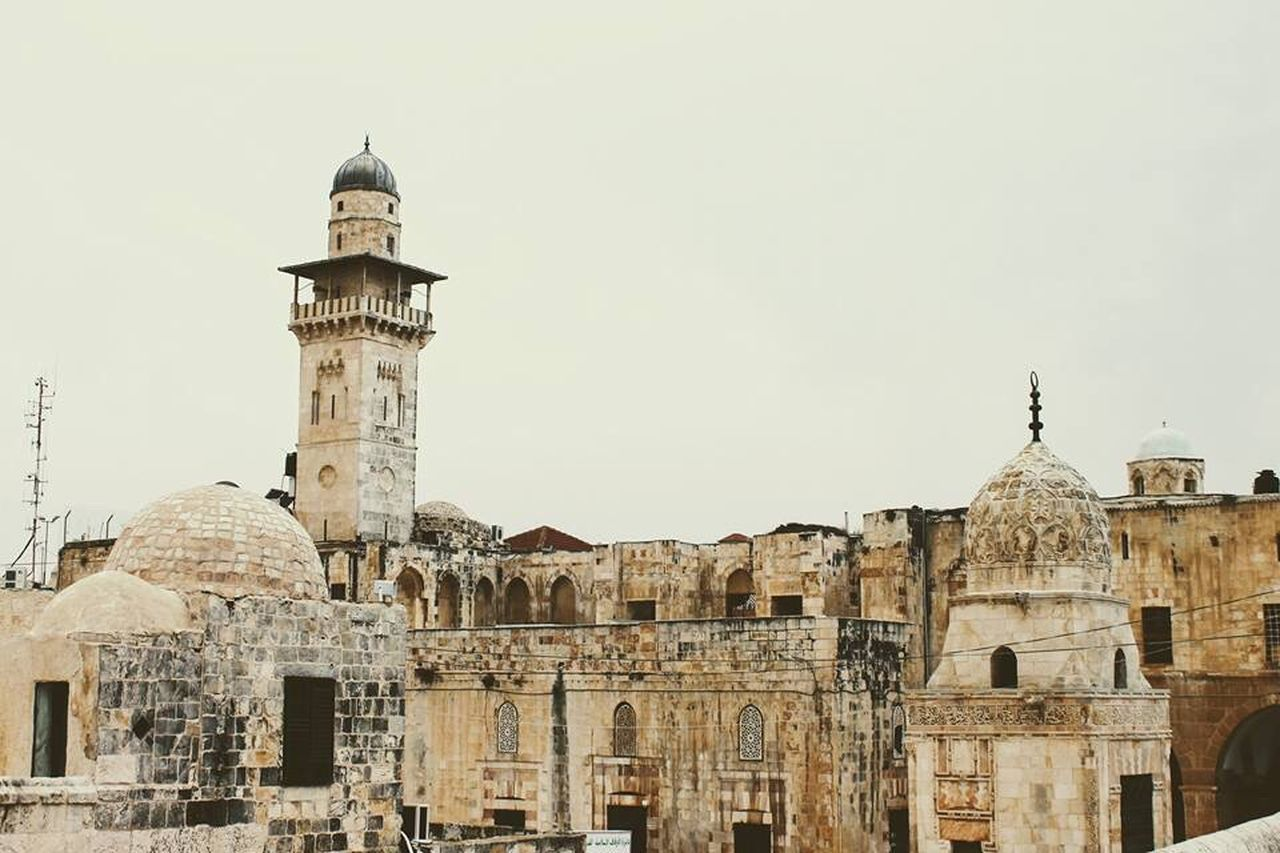 Architecture Building Exterior Built Structure Travel Destinations City History Outdoors Sky Day Dome Holy City Jerusalem Place Of Worship