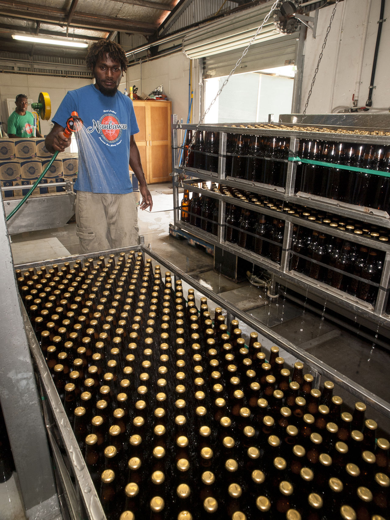 Nambawan Brewing Co Lini Highway Port Vila Vanuatu Abundance Day Front View Large Group Of Objects Nambawan Brewing Co Person Port Vila Vanuatu Railing Retail  Vivid International