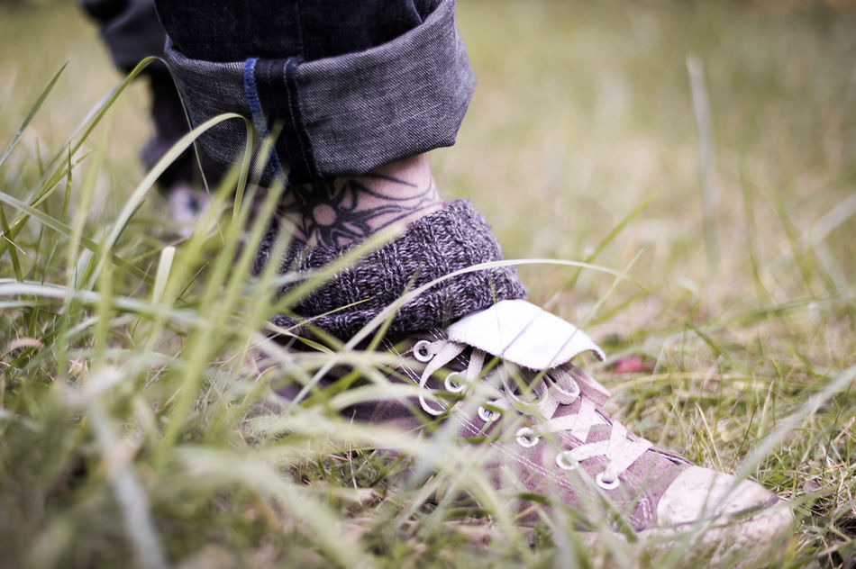 Beautiful stock photos of millennials,  40-44 Years,  Canvas Shoe,  Day,  Fashion