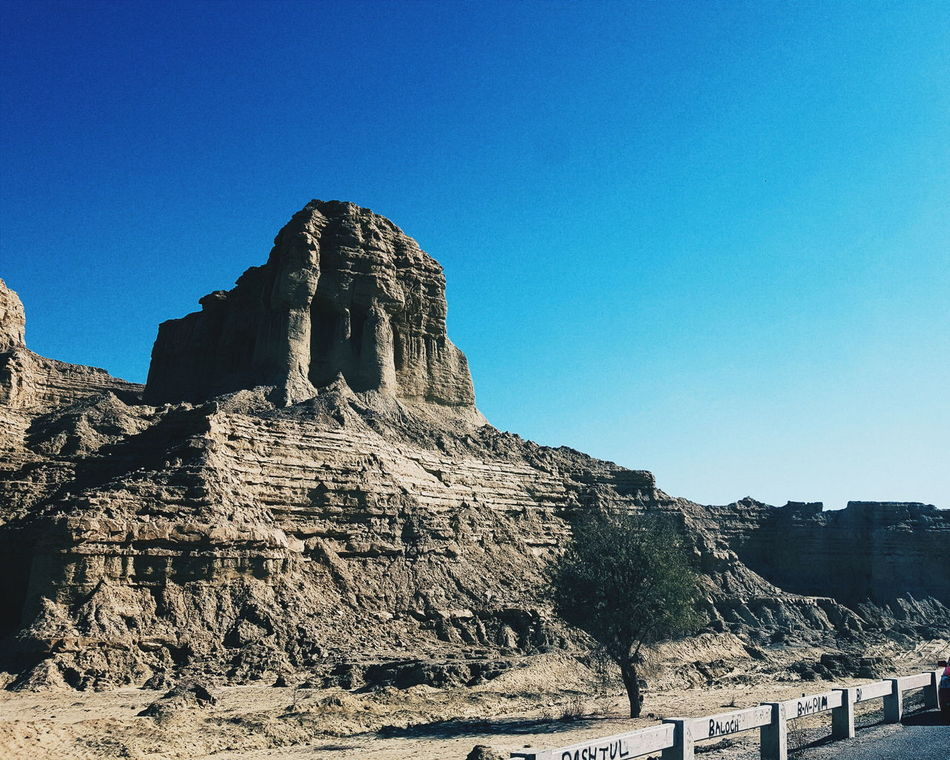 "Unknown Structure near ""Princess of Hope"" Balochistan VSCO Travel Photography Mobilephotography Unkown Thing Landscape_photography Pakistan"