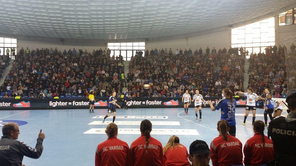 Sports Photography Sport Handball Ehfcl Sports Day  Buducnost Vardar