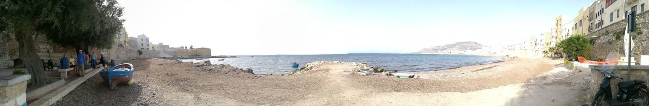 Day Fishing Port Nature Non-urban Scene Outdoors Panoramic Panoramic Person Sea Shore Sicily Sky Tourism Tourist Tranquil Scene Tranquility Vacations Water Wide Angle