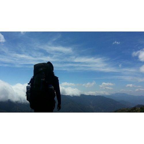 2nd highest Mountain in the Philippines Hiking MtPulag Philippines Northluzon trekking trekday 2014