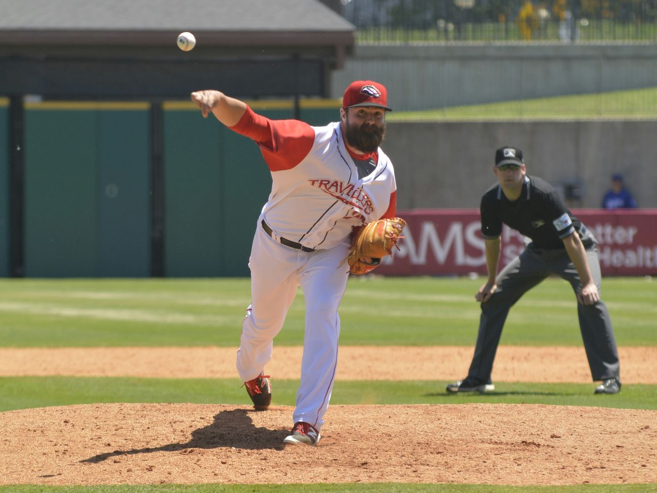 Travelers Arkansas Travelers Dickie-stephens Field Tulsa Drillers Pitcher Boys Of Summer May 4th Home Field Advantage