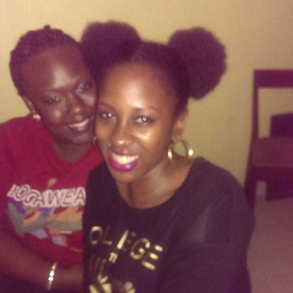 Wololo @mariedj2 Finally reunited Ogambaki Oliguduuuu
