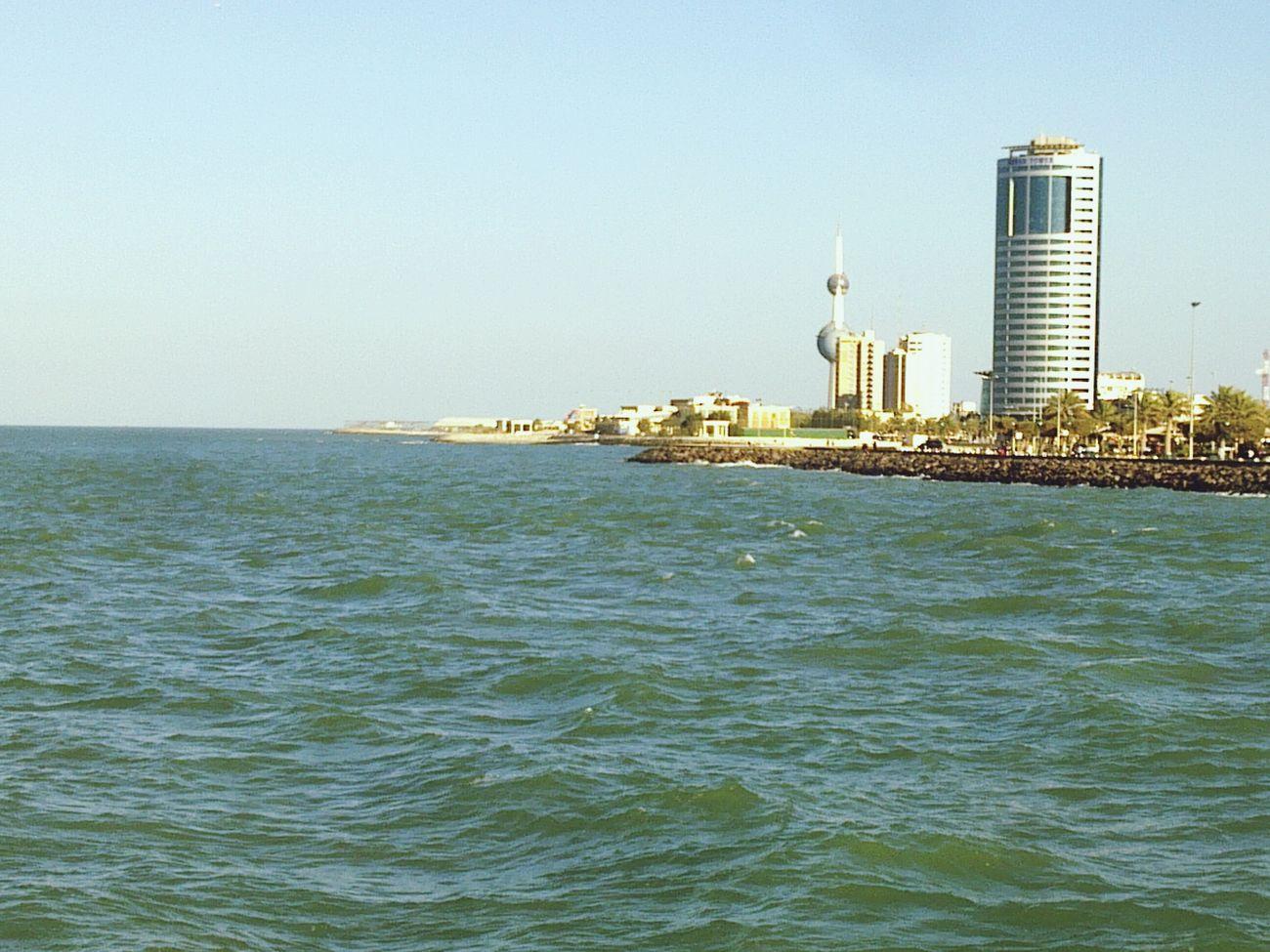 Sea And Sky TBT  Kuwait Towers Towers Clear Sky