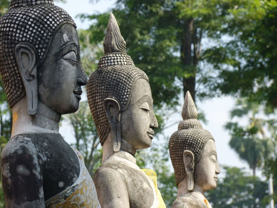 Ancient Buddha Old Ruin Outdoors Religion Spirituality Statue Temple สุพรรณบุรี Supanburi