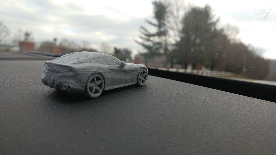 3D Printed Scale Model of the FerrariF12  Ferrari Highquality Product Design Technology Innovation Ultimaker3 3D Printer 3d Printing Ultimaker 3Dprint Tech Automobile Supercar 3dprintedideas