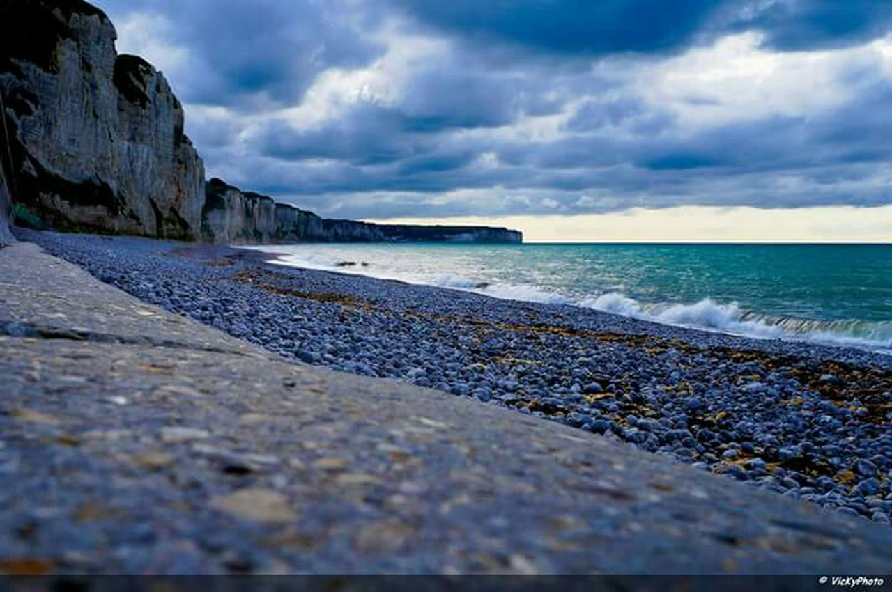 Plage de Fécamp Haute-Normandie Normandy Normandie France Seine Maritime Photography Relaxing France Paysage Landscape French Playa