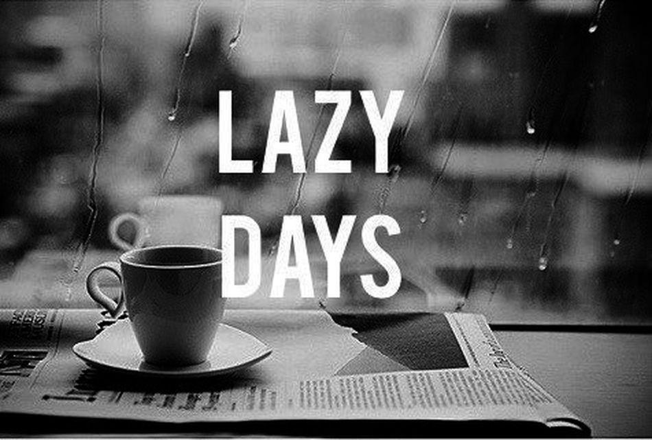 Lazy Days  Rain Coffee