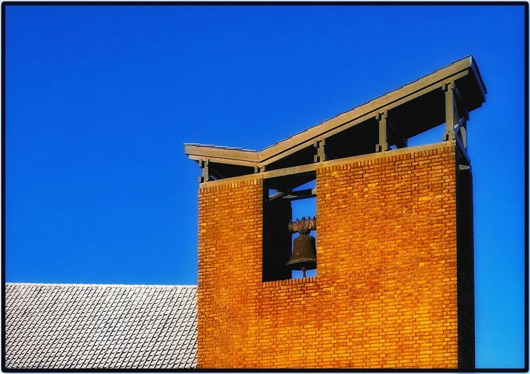 Built Structure Architecture Blue No People Building Exterior Low Angle View Clear Sky Day Sky Factory Outdoors