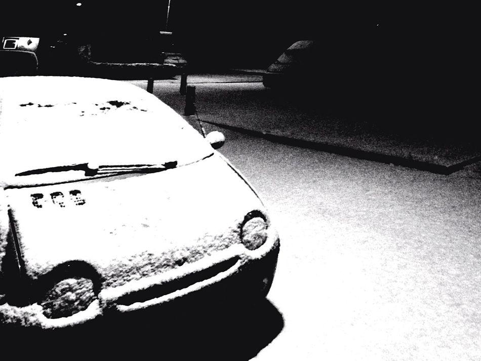 Snow Winter TWINGO Harderwijk