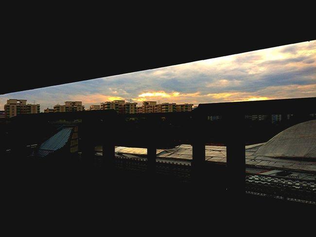 Woodlands Morning Skyline.