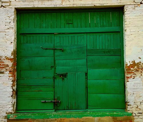 Door Puerta Puertas Doors Green