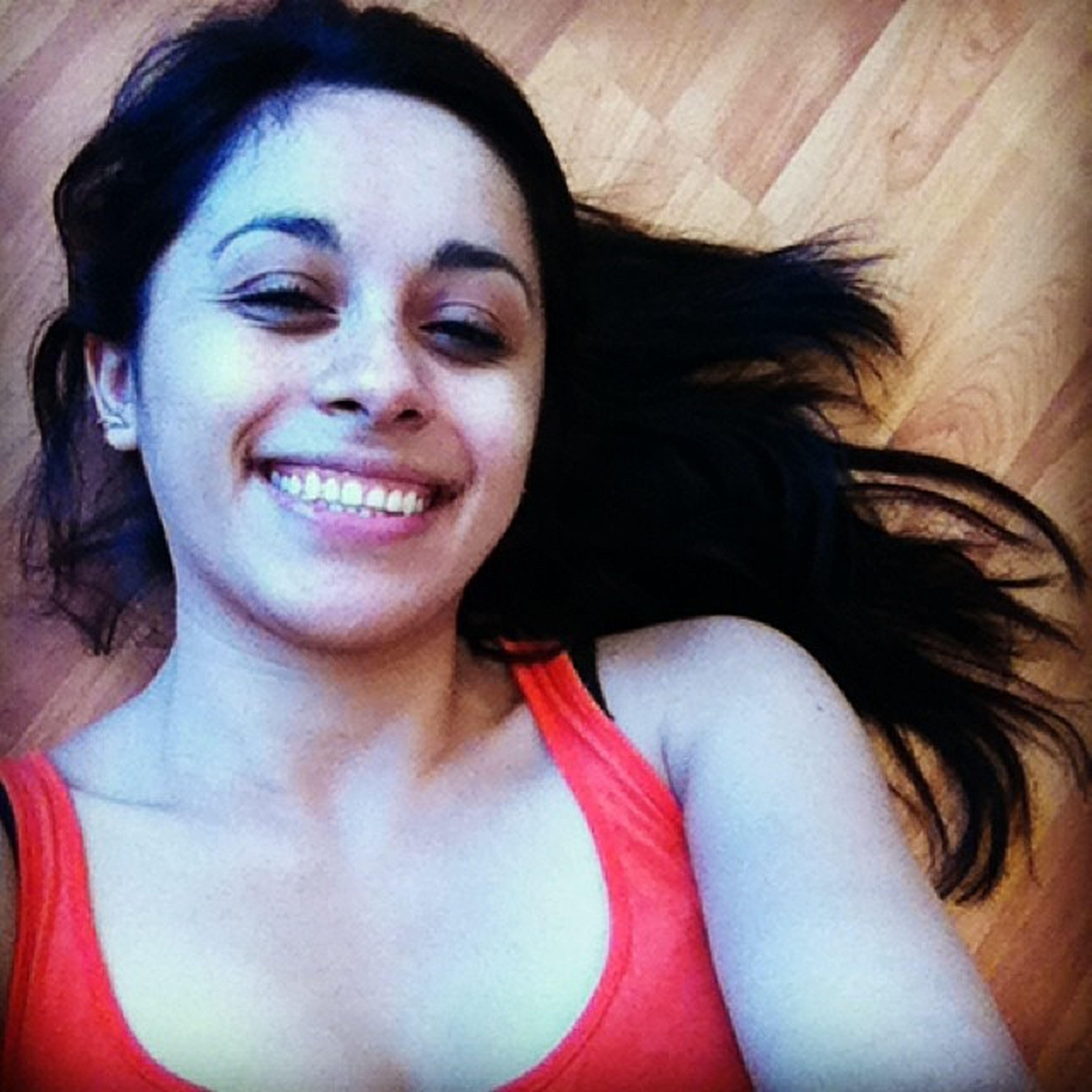 Descansando en el piso del nuevo dpto :) Newdpto