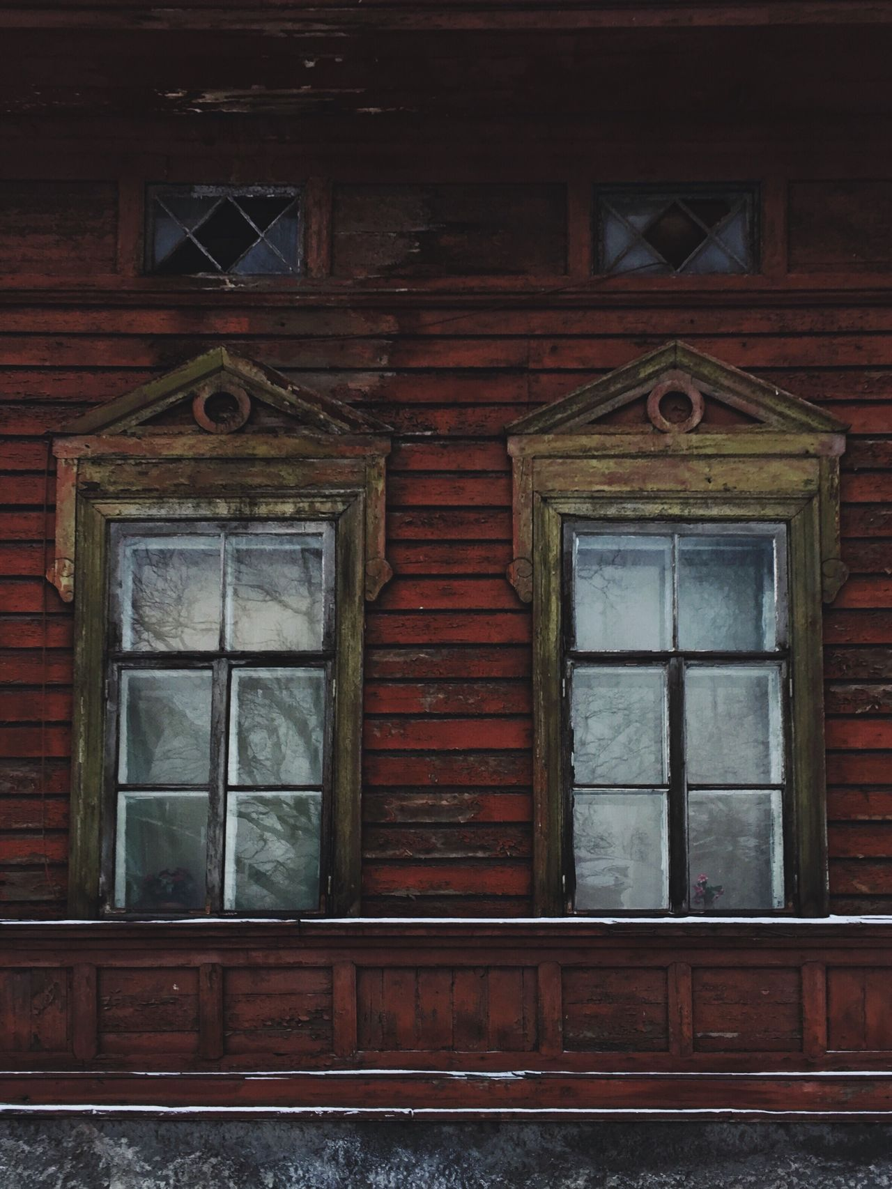 Windows Old House Exterior Architecture Wood - Material Building Exterior No People Day Outdoors Russia Vyborg Wood Wooden