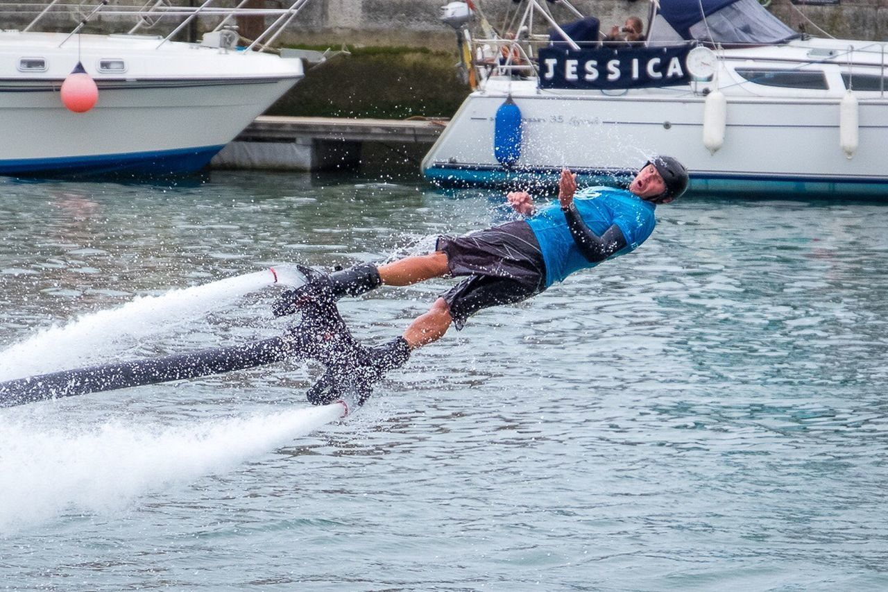 Weymouth Harbour Weymouth Dorset Weymouth Watersports Jetpack Jetski