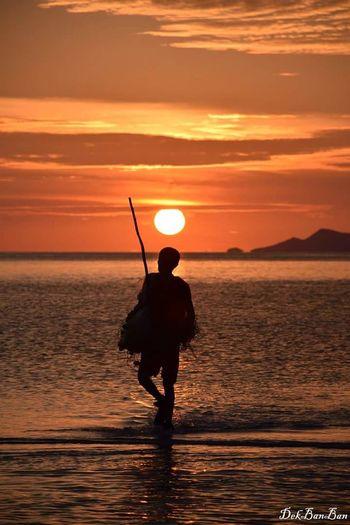 First Eyeem Photo Sky And Clouds Sunset Sea And Sky Samui Thailand Sea