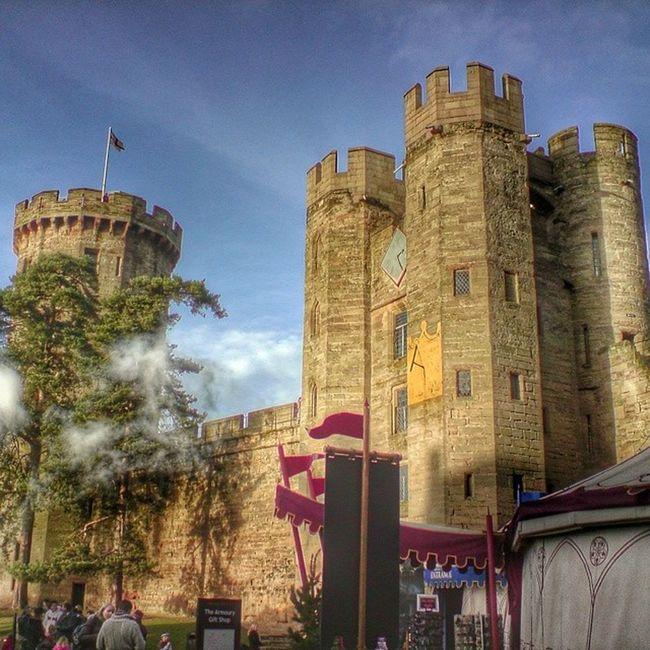 Warwick Castle 1068 Warwickshire uk england historic sunny day blue sky snapseed 365cz fmcz hdr picoftheday photooftheday insta instaplace instapic followme
