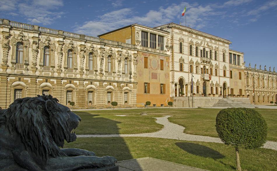 Architecture Art Building Built Structure Façade History Italy Padua Piazzola Sul Brenta Sky The Past Tourism Travel Destinations Villa Contarini