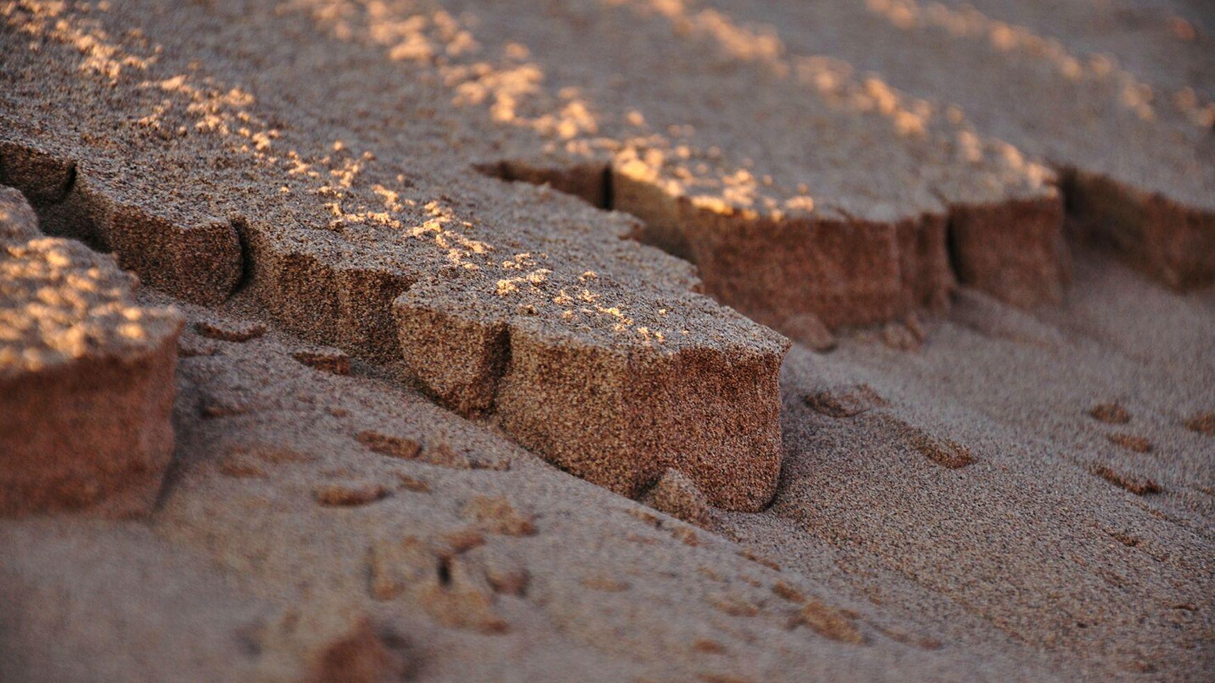 Deserts Around The World Iran Hemmatabad Salt Desert Sun Nature Nikon Photography Macro Photography EyeEm Travel