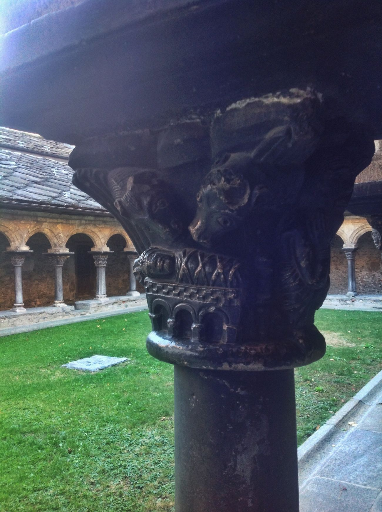 Sculpture Nativity Capitello in Aosta