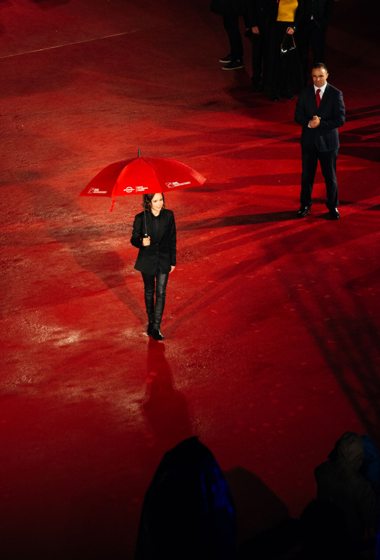 Ellen Page Actress Cinema Ellen Page Freeheld Italy On The Red Carpet Prime Red Carpet Red Carpet! Red Carpet. Redcarpet RomaFF10 Rome Rome Film Fest Umbrella Walking The Red Carpet