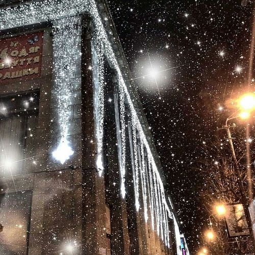 Winter Wintertime January January2016 Lights Snow ❄ Snow Snowing ❄ Snowing Beautiful