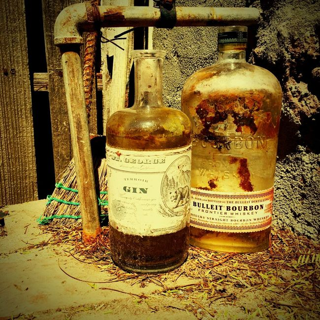 Old Bottles seem so charming covered in