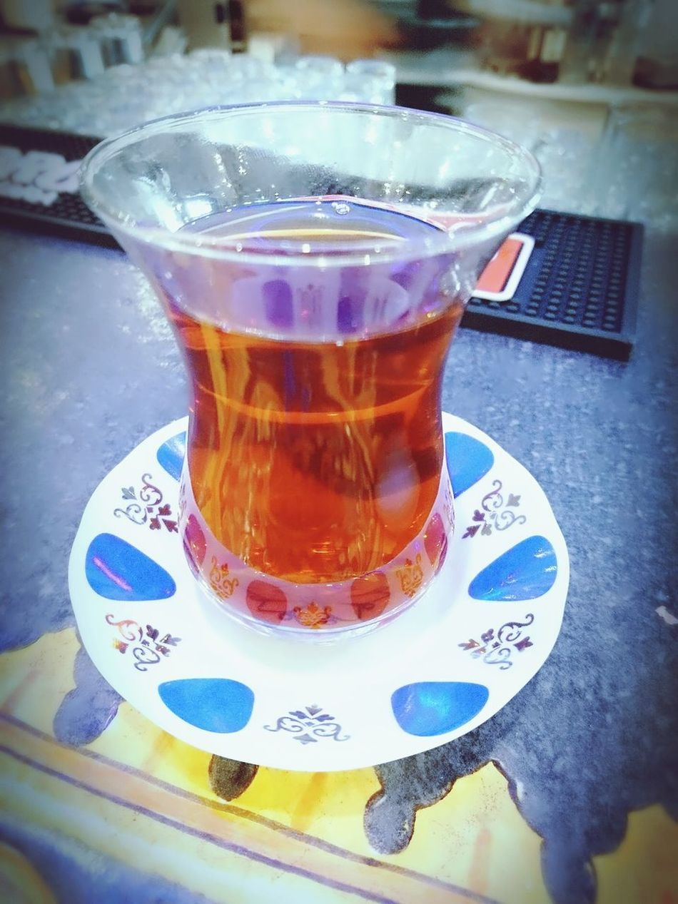 When you just arrived and can enjoy a Turkish çay Tea - Hot Drink North Cyprus Priceless