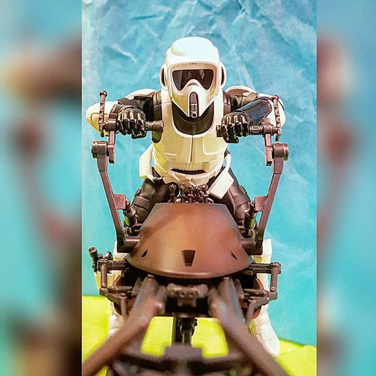 More coming right at ya.... Starwars Actionfigures BANDAI SHfiguarts Starwarstoys Toys Toyphotography Scouttrooper Speederbike Actionfigure Actionfigurephotography Toyart Toyartistry StarWars6inch Starwarsactionfigurephotography