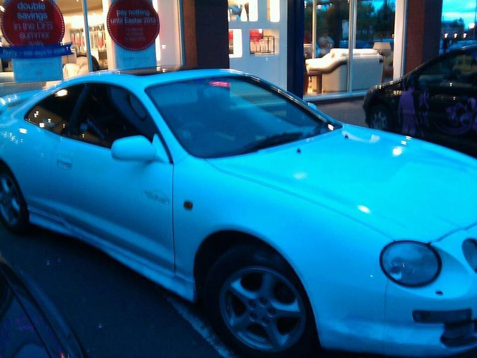 1 of my old celicas before getting chalkboarded Toyota Toyota Celica Love ♥ LoveCars
