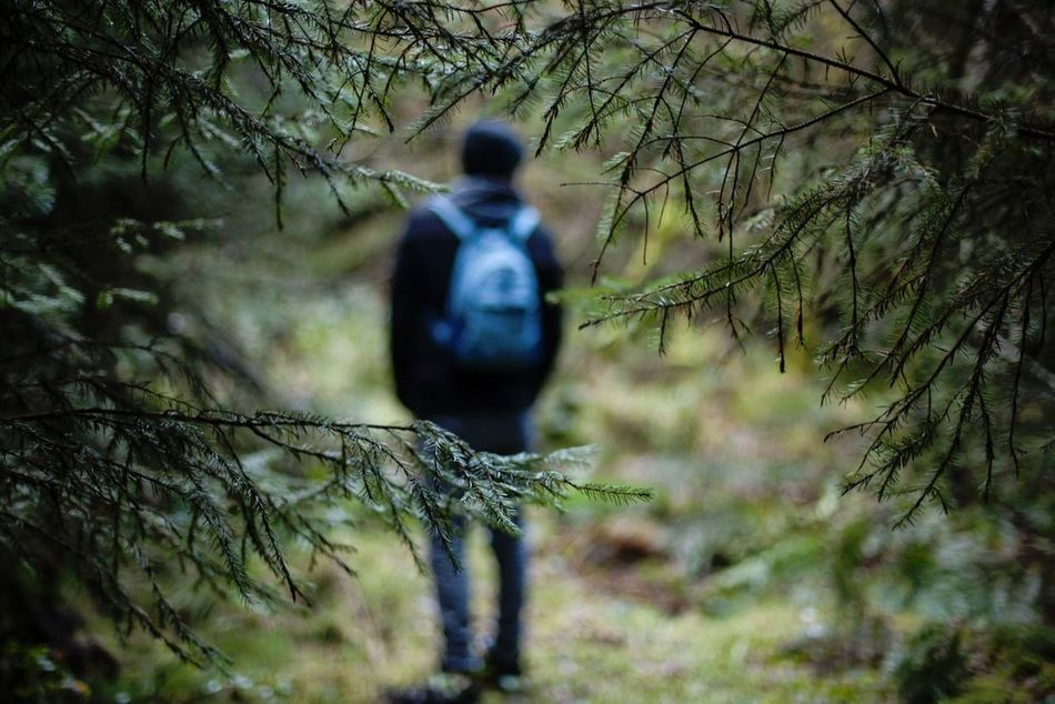 Beautiful stock photos of sad, Adventure, Backpack, Branch, Casual Clothing