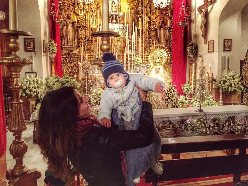 Esperanza Triana Virgen Marineros Calle Pureza Morena Betis