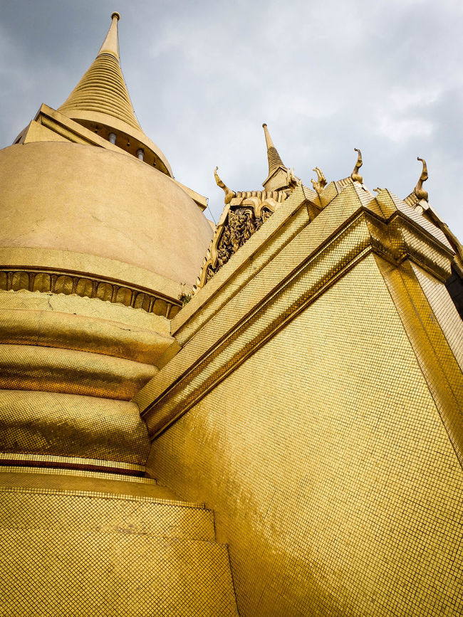 Architecture Buddhism Famous Place Gold Place Of Worship Spirituality Temple Wat Phra Khaeo