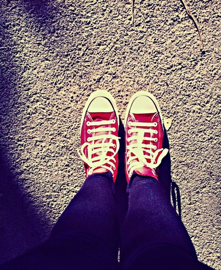 Converse moment.. Walking Around