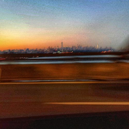 Nycprimeshot Nyclovesnyc Icapture_nyc Nycskyline  Grammaster Manhattan Todaysunrise Sunrise NYC GeorgeWashingtonBridge GWB Driving in traffic on the gwb, the view is awesome