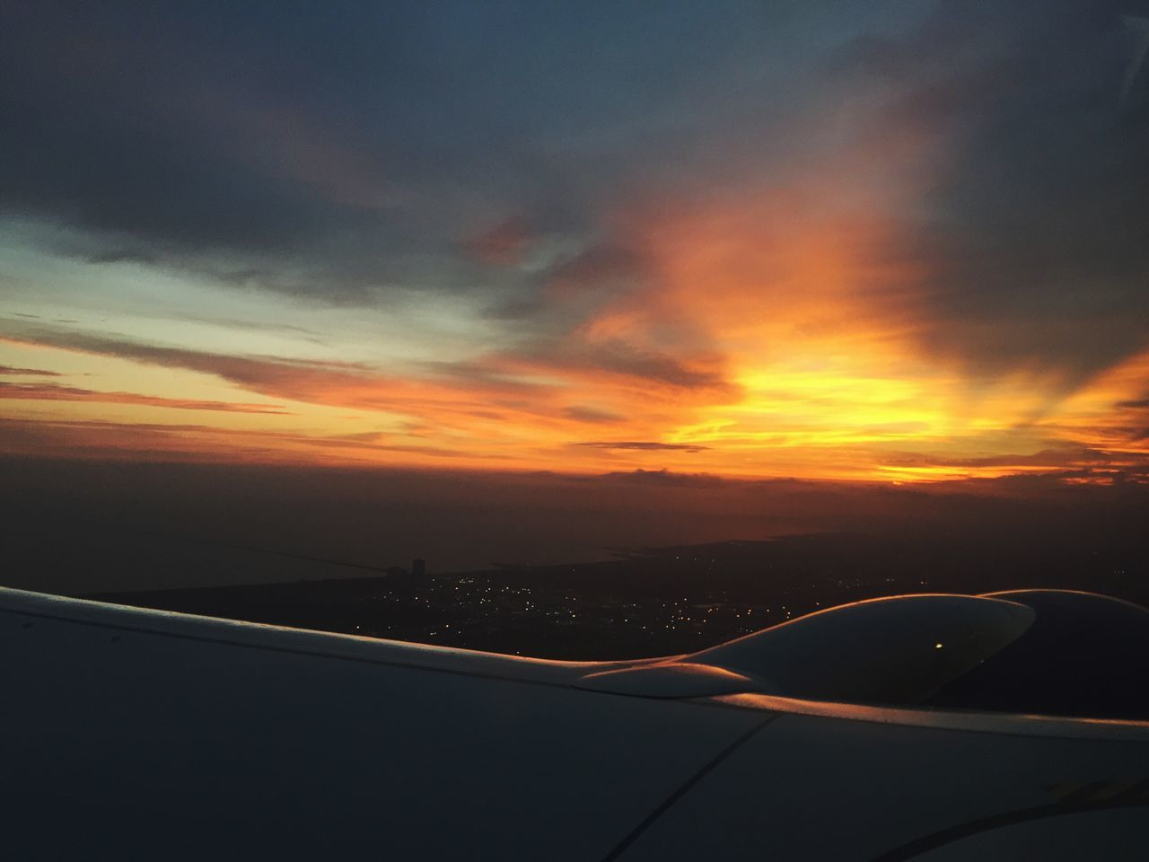 Takeoff ✈ Sunrise Mattroeartist NOLA Flying Planes