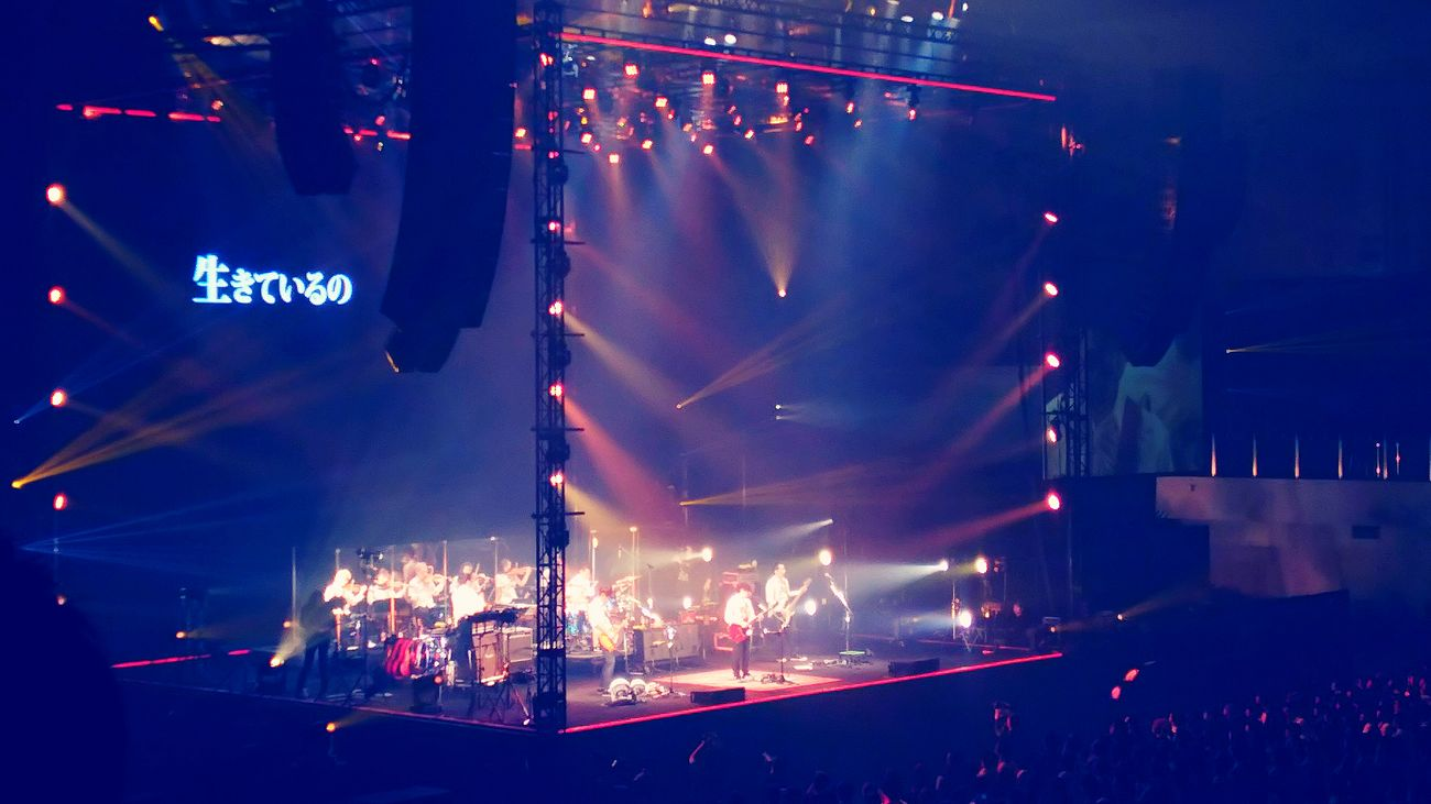 ASIAN KUNG-FU GENERATION Emotions Saturdaynight Rock Concert Thankyou Taking Photos Music Fukuoka,Japan